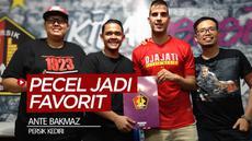 Berita video pemain asing Persik Kediri, Ante Bakmaz, mengungkapkan salah satu makanan Indonesia favoritnya adalah pecel.