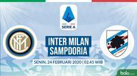 Serie A: Inter Milan vs Sampdoria. (Bola.com/Dody Iryawan)