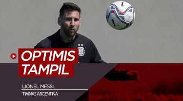 Berita video latihan Lionel Messi jelang Argentina Vs Paraguay di Kualifikasi Piala Dunia Qatar 2022