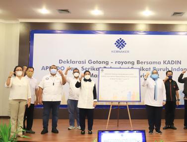 Deklarasi Gotong Royong Sikapi Pandemi Covid-19