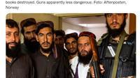 Taliban rebut Kedubes Norwegia di Kabul. Dok: Twitter Ambadassador Sigvald Hauge @NorwayAmbIran