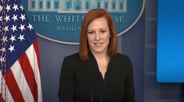 Jubir Gedung Putih, Jen Psaki, bahas posisi pemerintahan Joe Biden terkait krisis Israel-Palestina.