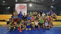 Ary Sudarsono bersama Manusia Basket Indonesia (MBI)