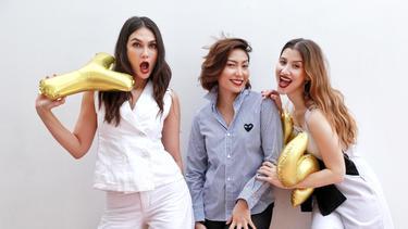 [Bintang] Luna Maya, Millane Fernandez dan Ayu Dewi