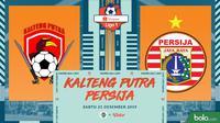 Shopee Liga 1 - Kalteng Putra Vs Persija Jakarta (Bola.com/Adreanus Titus)