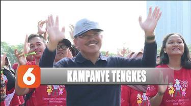 Kementerian Kesehatan menggelar kampanye pencegahan stunting atau tengkes di Gedung Olahraga Soemantri Brodjonegoro, Jakarta Selatan.