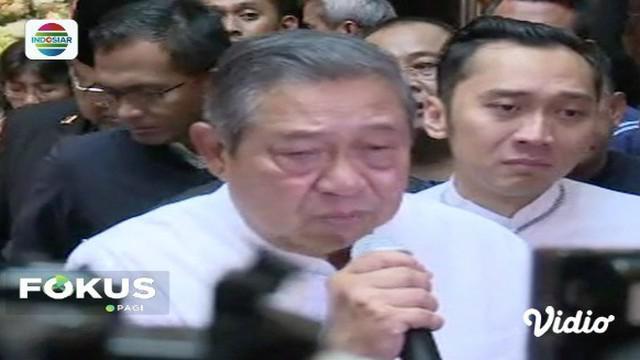 Ani Yudhoyono sempat menyatakan punya banyak rencana di Tanah Air jika sembuh, SBY: Saya dan akan mewujudkan impian itu.