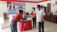 Gerakan Mapalus, sebuah kearifan lokal masyarakat Sulut, untuk membantu para siswa yang terdampak Covid-19.