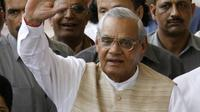 Mantan Perdana Menteri India ke-10, Atal Behari Vajpayee. (AFP)