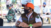 Pelaksana Tugas Wali Kota Bengkulu Dedy Wahyudi selalu memberikan kejutan saat mengunjungi warga. (Liputan6.com/Yuliardi Hardjo)