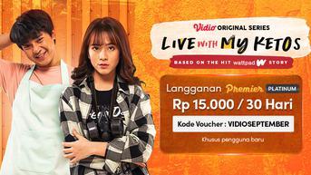 Preview Live with My Ketos Episode 4: Konflik Rumit Melebihi Cinta Segitiga