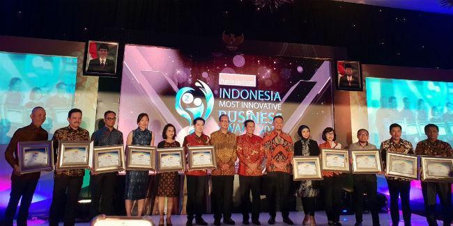 Penghargaan Indonesia Most Innovative Business Award/Anisha Saktian/Vemale.com