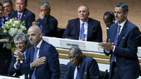 Infantino was chosen as the new president of FIFA, a position which made his predecessor Sepp Blatter as instantly recognisable as some of the world's leading statesman. REUTERS/Ruben Sprich