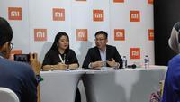Country Head Xiaomi Indonesia, Steven Shi, saat peluncuran smartphone Redmi Note 7. Liputan6.com/ Agustinus M. Damar