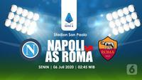 NAPOLI VS AS ROMA  (Liputan6.com/Abdillah)