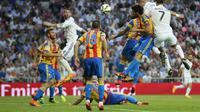 Real Madrid vs Valencia (GERARD JULIEN/AFP)