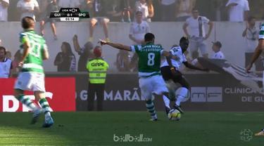 Berita video 5 gol yang dilesakkan Sporting Lisbon ke gawang Vitoria de Guimaraes. This video presented by BallBall.