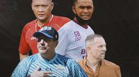 Piala Menpora -  Ilustrasi Pelatih (Bola.com/Adreanus Titus)