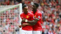 Anthony Martial mencetak satu gol untuk Manchester United pada laga pekan pertama Premier League 2017-18 (13/8/2017). (doc. Manchester Evening News)