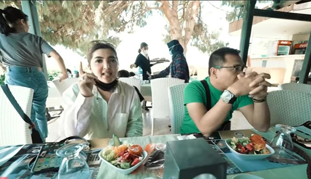 Anang Hermansyah dan Ashanty di Turki (Youtube/The Hermansyah A6)