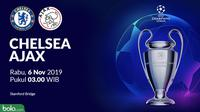 Liga Champions - Chelsea Vs Ajax (Bola.com/Adreanus Titus)