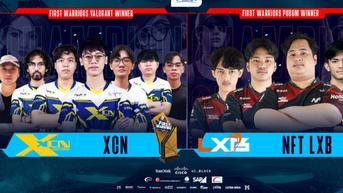 NFT LXB dan XCN Juarai First Warriors-Ultimate Battle Championship PUBG Mobile & Valorant
