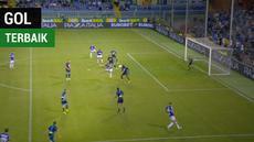 Berita video salah satu gol terbaik yang tercipta pada musim 2018-2019 ditorehkan striker Sampdoria, Fabio Quagliarella.