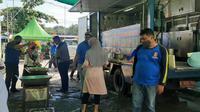 PEP Tarakan Field memberikan bantuan berupa bahan makanan kepada Dinas Sosial dan Pemberdayaan Masyarakat melalui Satuan Gugus Tugas Covid-19 Kota Tarakan.