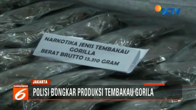 Apartemen Kalibata City dipakai tersangka MIES untuk memproduksi sekaligus pusat penjualan jenis narkoba tembakau gorila.