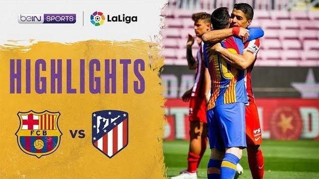 Berita vdieo Highlights Liga Spanyol, Atletico Madrid tahan imbang Barcelona 0-0, Sabtu (8/5/21)