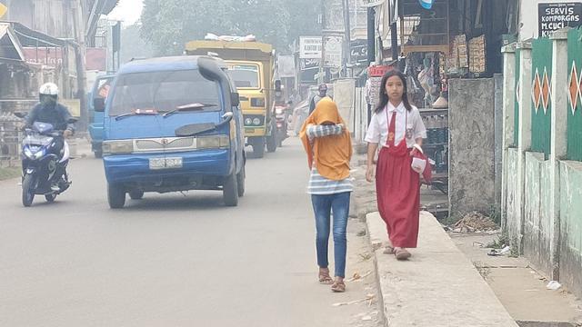 Kabut Asap Masih Pekat Sekolah Di Palembang Perpanjang