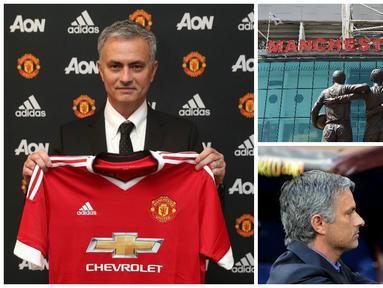 Manchester United resmi menunjuk Jose Mourinho sebagai pelatih baru menggantikan posisi yang ditinggalkan Louis van Gaal. (AFP-Twitter)