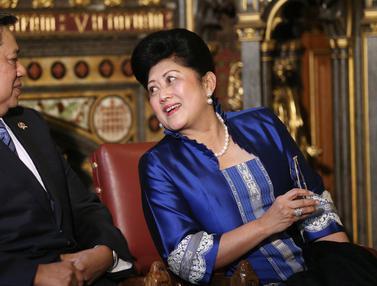 Kebersamaan Ani Yudhoyono Mendampingi SBY Menjabat Presiden