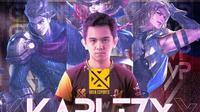 KarlTzy, pemain terbaik grand final Kejuaraan Dunia Mobile Legends M2, di Singapura.  (FOTO / IG Mobile Legends Bang Bang)