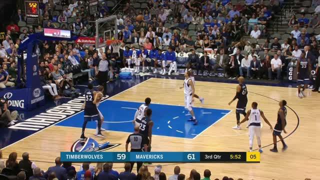 Minnesota Timberwolves berhasil mengalahkan Dallas Mavericks dengan skor 111-87.