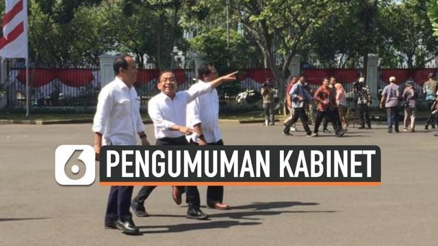 Presiden Joko Widodo atau Jokowi masih terus memanggil calon menteri Kabinet Kerja Jilid II. Kali ini, Jokowi memanggil Menteri Sekretaris Negara, Pratikno. Pratikno terpantau tiba di Istana Negara Jakarta pukul 14.07 WIB.