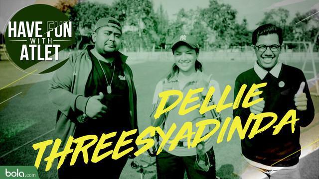 Berita Video Have Fun With Atlet, Tantang Seru Buat Pepanah Cantik Indonesia, Dellie Threesyadinda