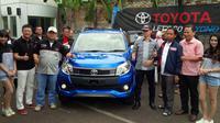 """Komunitas Terios Rush Club Indonesia (TeRuCi) yang berada di bawah naungan Toyota Owner Club (TOC) menggelar """"MetamorfoRUSH."""""""