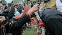Menparekraf Sandiaga Uno diangkat jadi warga kehormatan Suku Pakpak di Sumatera Utara (dok. Biro Humas dan Komunikasi Publik Kemenparekraf)