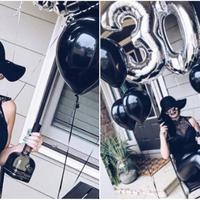 Seorang wanita biasanya akan lebih memilih tema glamour atau bahkan princess ketika ulang tahun, tapi wanita ini malah memilih tema pemakaman. (Foto: Metro.co.uk/BoredPanda)