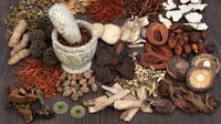 Ilustrasi herbal (iStockphoto)