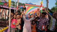 Dewi Sandra terkesan dengan kota Semarang