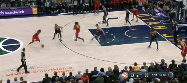 Berita video game recap NBA 2017-2018 antara Atalanta Hawks melawan Utah Jazz dengan skor 99-94.