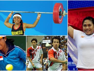 Berikut ini para legenda olahraga Indonesia yang berhasil meraih medali di Asian Games. Diantaranya adalah Yayuk Basuki, Rexy Mainaky dan Ricky Subagdja