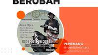 Ryan Putra Bima (@ryantbimantara) sebagai pemenang kuis #SiapBeraniBerubah yang diselenggarakan lewat media sosial Instagram Liputan6.com akan mendapatkan bantuan modal usaha sebesar Rp5.000.000. (Foto:Liputan6.com)