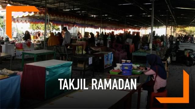 BPOM Yogyakarta malakukan razia makanan takjil di Pasar Sleman, Hasilnya ditemukan sejumlah zat berbahaya pada makanan yang dijual.