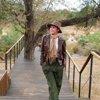 Maia Estianty saat berada di Taman Nasional Kruger di Afrika Selatan (Dok.Instagram/@maiaestiantyreal/https://www.instagram.com/p/B3FbzODnaGI/Komarudin)