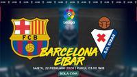 La Liga: Barcelona vs Eibar. (Bola.com/Dody Iryawan)