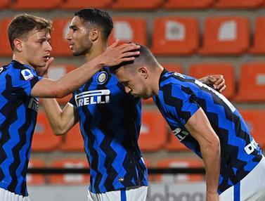 FOTO: Imbang Lawan Spezia, Inter Milan Masih Puncaki Klasemen Liga Italia