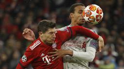 Dari torehan 11 gol Lewandowski, sembilan di antaranya tecipta ketika Bayern Munchen berlaga di pertandingan tandang. (AFP/Odd Aandersen)